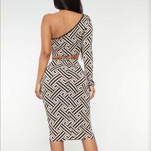 Fashion Nova Dresses - NWT Fashion Nova Can't Keep Up 2 Piece Set Large